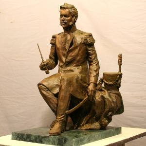 Выставка произведений Н.А.Иванова и В.Д.Бускина в МГИМО.