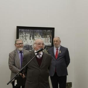 Выставка произведений Андрея Николаевича Блиока.   Живопись и графика