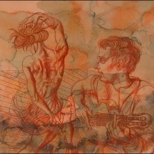 «Неактуальное искусство». Выставка произведений М.Верхоланцева в Туле.