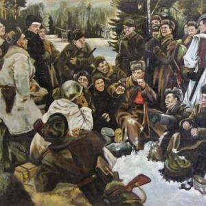 Ю.М.Непринцев. Декабрь 1941 года. 1941