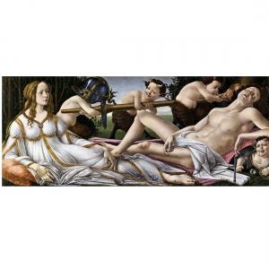 Боттичелли.  Венера и Марс, ок. 1483г.