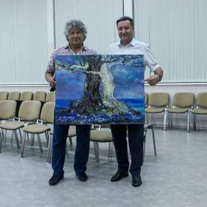 Пленэр «От Яранска до Юга России» Отделения дизайна РАХ в Дивноморском