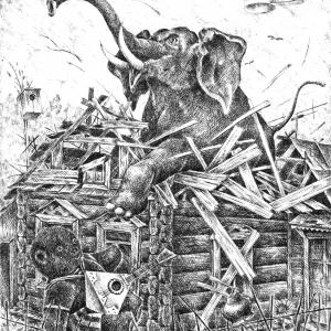 А.Калугин Россия - родина слонов.1991