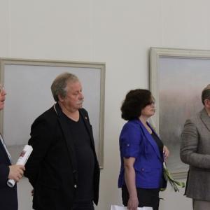 «Свете Тихий» Выставка произведений Виктора Минкина.