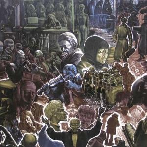В.С.Вильнер. «Зима». Блокада. 1979.