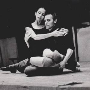 Наталия Бессмертнова с Юрием Григоровичем. Танцоры.
