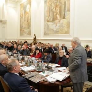 24.11.2015. На заседании Президиума Российской академии художеств