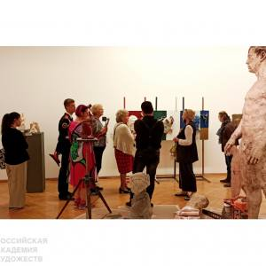 Авторская экскурсия «Творческая мастерская скульптуры: опыт и поиск» в рамках акции «Ночь музеев-2021» в МВК РАХ