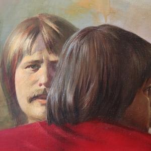 Юбилейная выставка произведений Георгия Кичигина из собрания Музея имени М. А. Врубеля в Омске