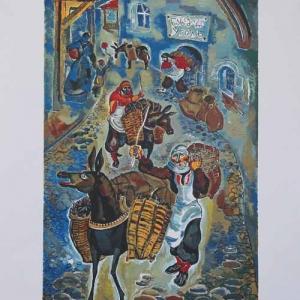 Выставка произведений З.К.Церетели в Красноярске.