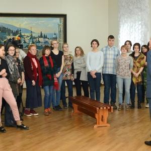 Выставка «Василий Нестеренко. Живопись» в Новосибирске.