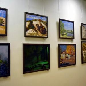 Выставка по итогам Десятого юбилейного пленэра «На родине И.Н. Крамского» в Острогожске