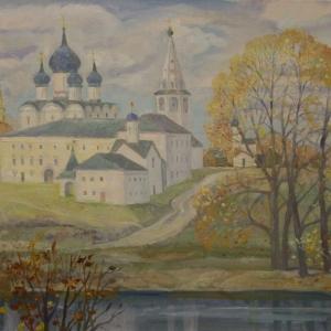 «Мои впечатления». Выставка живописи Е.Ржевской в Библиотеке РАХ.