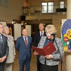 «Зураб Церетели. Графика, эмаль». Выставка в рамках дней Москвы в Риге