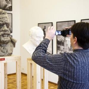 «Отечество. История. География». Выставка произведений Салавата Щербакова в Российской академии художеств
