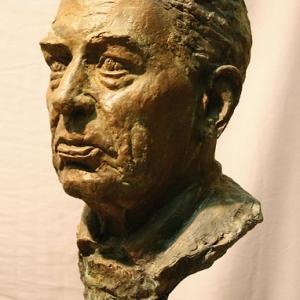 Н.А.Иванов. А.П.Афанасьев.Бронза,камень.2010г.