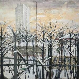 Е.Корнилова. Вид из окна больницы