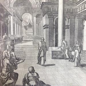 Библия Пискатора. Лепта вдовицы