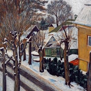 Выставка произведений Владимира Соколова в Паланге (Литва)
