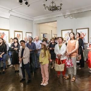 24.07.2019. Открытие выставки произведений З.К.Церетели во Владивостоке