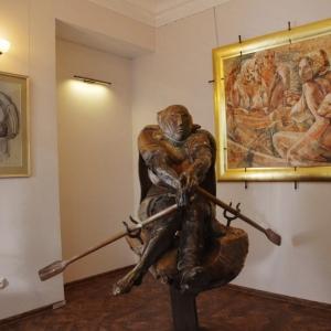 Выставка произведений Александра Рукавишникова в Ярославском МСИ.
