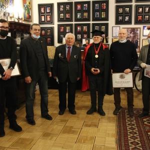 Вручение наград Российской академии художеств 19 января 2021 года
