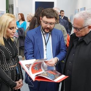 Президент РАХ З.К. Церетели – участник международной выставки в Гран Пале в Париже