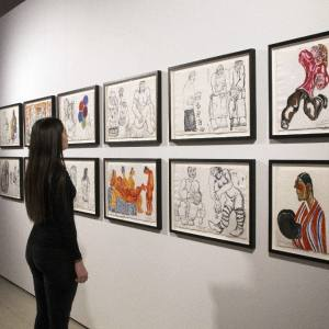 Выставка «Зураб Церетели: Больше, чем жизнь» в Saatchi Gallery (Лондон)