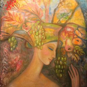 «Звёздный дождь». Выставка произведений Т.Сельвинской и ее учеников в Абрамцево