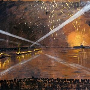 А.П.Остроумова-Лебедева. «Салют». 1944.