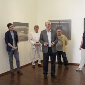 «Музыка над городом». Выставка произведений Андрея Волкова.