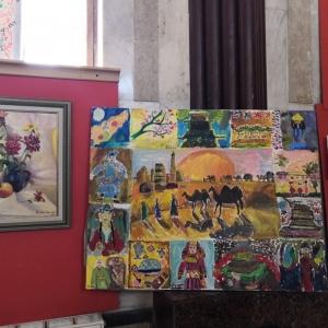 Международная выставка «Радужная мозайка» с участием стажеров Творческой мастерской живописи РАХ в Казани.