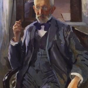 К.А.Сомов (1869–1939). Портрет отца.1897. ГРМ.