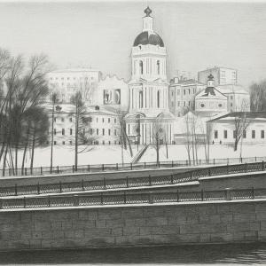 В.В.Дранишников (1936-2019). Яузские ворота.