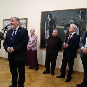 Межрегиональный выставочный проект «Живописная Россия» в Саратове.