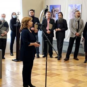 Открытие выставки произведений Андрея Щербакова «Tеrrа-bronza» в Вольске