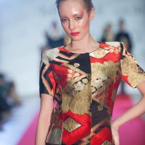 Демонстрация коллекции дизайнера Наталии Мельяновой в МВК РАХ Галерее искусств