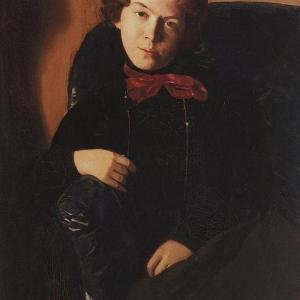 К.А.Сомов (1869–1939). Портрет А. П.Остроумовой-Лебедевой.1901. ГРМ
