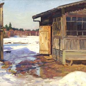 «Времен связующая нить». Выставка пейзажной живописи династии художников Кугачей в Твери.