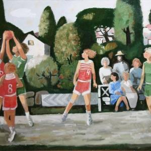 Выставочный проект «Спорт в искусстве» на Кузнецком мосту, 11.
