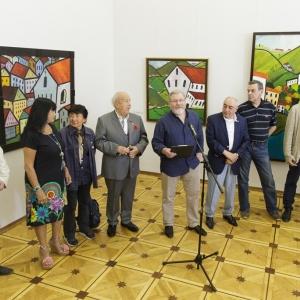 «Радуга видения». Выставка произведений Важи Окиташвили.