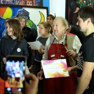 Мастер-класс  З.К.Церетели в рамках проекта «Дадим шар земной детям».
