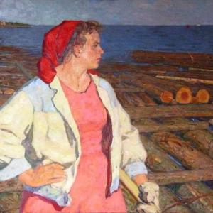 «Притяжение Волги». Выставка произведений А.П.Белых в Костроме.
