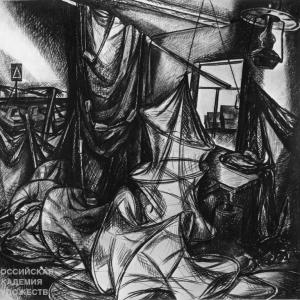 «В пространстве времени». Выставка графики Г.В. Намеровского в Могилеве