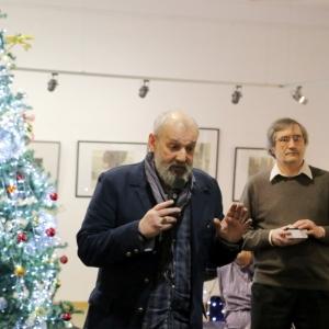 Выставка творческих мастерских Российской академии художеств в Казани.