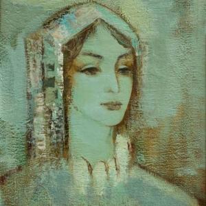 Юрий Суренович Григорян. Голубой портрет. 2006.