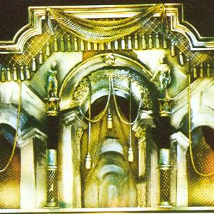 М. М. Курилко-Рюмин. Макет декорации к пьесе А.Миллера  «Цена». 2000