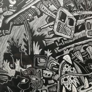 Выставка произведений Антона Тхоренко «Графика размышлений»