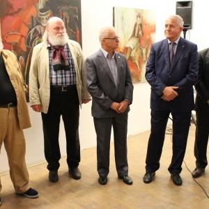 «Диалог с сыном» Выставка произведений Юрия Григоряна и Юрия Григоряна младшего