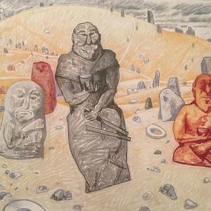 Выставка произведений Андрея Блиока «СНГ - 30 лет независимости / 30 лет истории» в Санкт-Петербурге, 2021